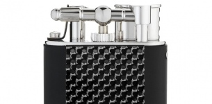 Alfred Dunhill Turbo Carbon Fibre Lighter