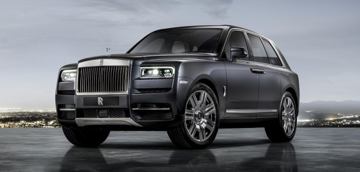 Rolls-Royce introduces the Cullinan as its first SUV