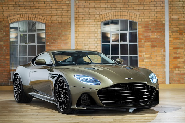 Aston Martin DBS Superleggera special edition angled front view