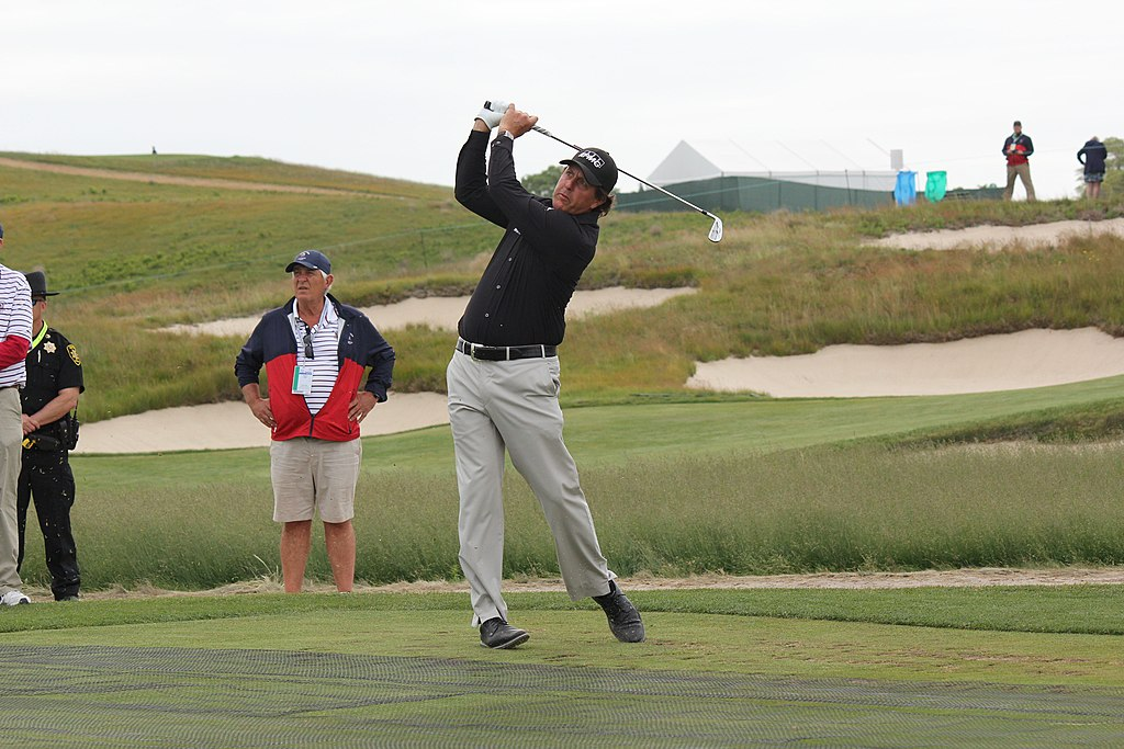 Phil Mickelson at 2018 US Open